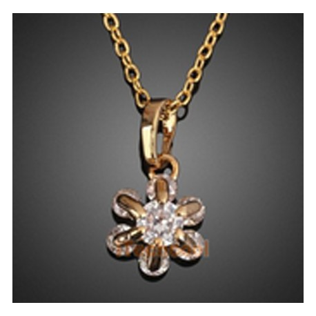 18k gold plated round crystal pendant necklace ssweet hearts 18k gold plated round crystal pendant necklace mozeypictures Gallery